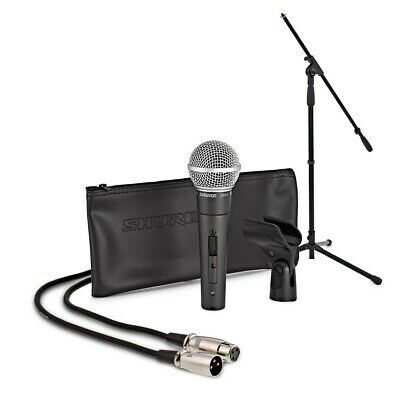 Shure SM58S Dynamic Mic With On/Off Switch Including Boom Mic Stand And 6m Cable • 149£