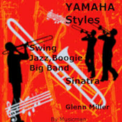 Styles Pour YAMAHA Genos-Psr-Tyros-Cvp  Jazz-Swing-Big Band-Piano Bar  • 30.14£