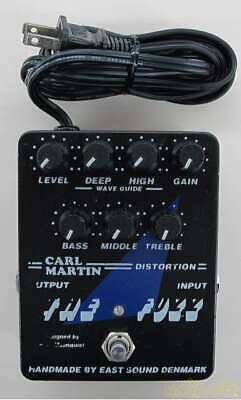 CARL MARTIN THE FUZZ Effects Pedal Perfect Packing From Japan • 218.05£