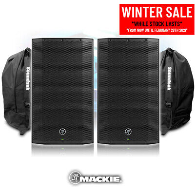 Mackie Thump12A V4 Active DJ PA Speaker 12  1300w Powered Sound System + Bags • 535£