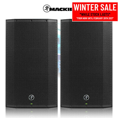 Mackie Thump12A V4 Active DJ PA Speaker 12  2600W Powered Sound System (Pair) • 515£