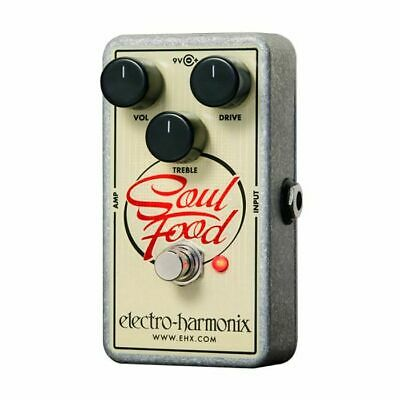 Electro Harmonix Soul Food Distortion Fuzz Overdrive Pedal • 70.75£