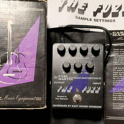 CARL MARTIN THE FUZZ Effects Pedal Ships Immediately From Japan • 242.11£