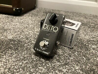 TC Electronic Ditto Looper Pedal Effects Pedal • 35£