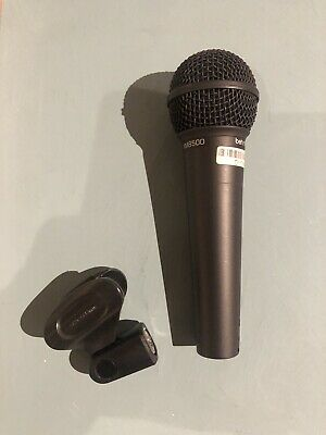 """Behringer ULTRAVOICE XM8500 Professional Microphone - With 3m XLR To 1/4"""" Cable • 7.99£"""