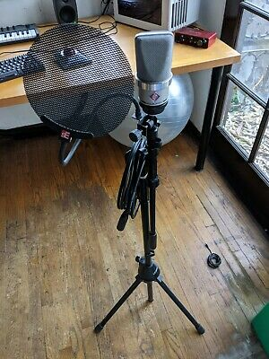 Neumann TLM 102 Condenser Microphone W/ STAND, CABLE & POP FILTER • 556.84£