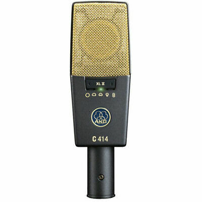 AKG C414 XLII XLii Reference Multi-Pattern Condenser Microphone Mic • 644.27£