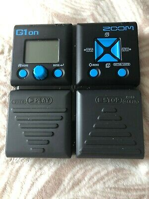 Guitar Multi Effect Zoom G1on Pedal Excellent Condition  !!! • 60£