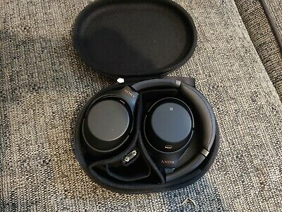 Sony WH-1000XM3 Wireless Noise Cancelling Headphones - Black Faulty • 68.01£