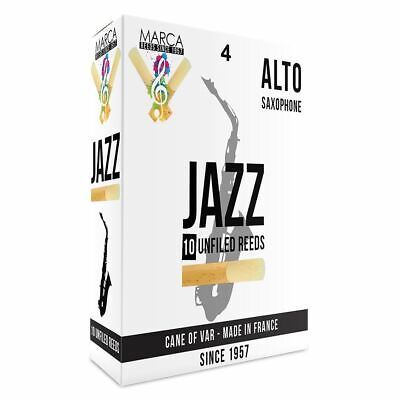 Marca Jazz Unfiled� Reeds - 10 Pack - Alto Sax - 4 • 28.99£