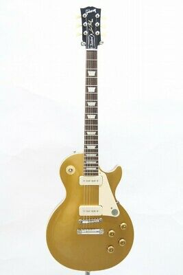 Gibson Les Paul Standard 50s P90 Gold Top Perfect Packing From Japan • 2,651.72£