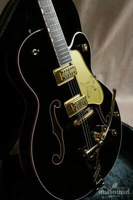 Gretsch G6136T-BLK Players Edition Falcon Hollow Body Black From JP Good Quality • 3,314.01£
