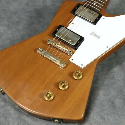 Gibson Custom Shop 1958 Explorer Mahogany Elbow Cut Heavy Antique Natural • 5,993.30£
