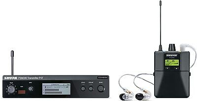 Shure PSM300 P3TRA215CL Pro Wireless In-Ear Personal Monitoring System W/SE215CL • 571.57£