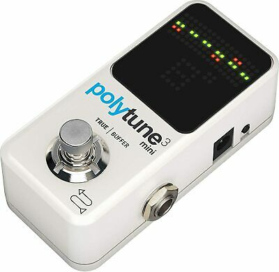 Electronic Guitar Pedal Accurate High Quality Tuner Polyphonic Chromatic  Strobe • 96.59£