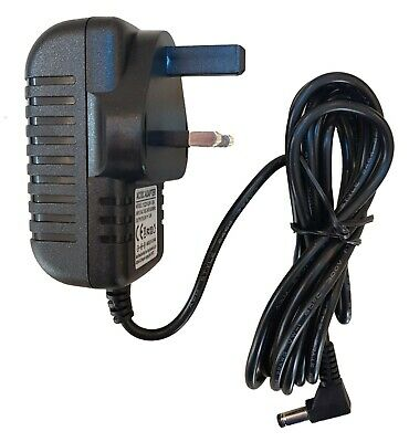 Casio Sa-46 Keyboard 9.5v 1.0a Power Supply Replacement Adapter Uk • 8.99£