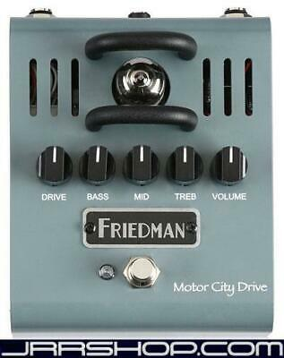Friedman Amplification Motor City Drive Tube Overdrive Pedal + Free Analog Choru • 182.13£
