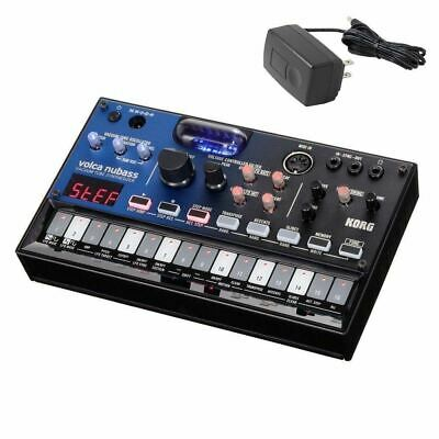 Korg Volca Nubass - Vacuum Tube Synthesizer (With Official Korg Power Supply) • 176.86£