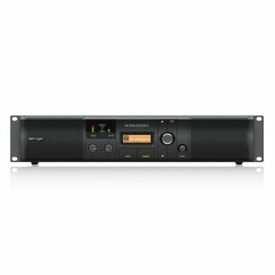 Behringer NX6000D Class D Power Amplifier With DSP Control (6000W) • 398.99£