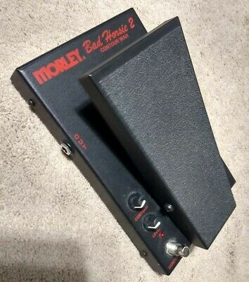 Morley Bad Horsie 2 Steve Vai Signature Contour Wah Effects Pedal Spring Auto-on • 72.83£