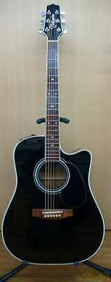 Takamine EF341SC SP01 48010348 Acoustic Electric Guitar Safe Shipping From Japan • 980.53£
