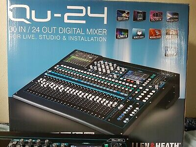 Allen & Heath Qu-24 Digital Mixer - Chrome Edition • 1,250£