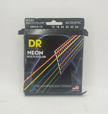 Dr Neon Multi-color Acoustic Hi-def Nmca-12 12 16 24 32 42 54 Made In The Usa • 9.73£