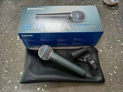 Shure Beta 58a Great Condition, Boxed • 10.50£