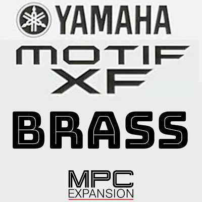 Yamaha Motif XF Brass MPC Expansion Akai MPC Live One Force X Touch • 7.08£