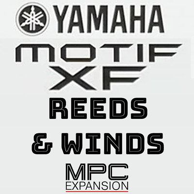Yamaha Motif XF Reeds & Woodwinds MPC Expansion Akai MPC Live One Force X Touch • 7.08£