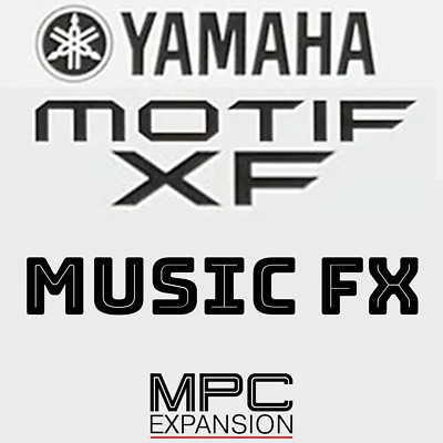 Yamaha Motif XF Music & Sound FX MPC Expansion Akai MPC Live One Force X Touch • 7.08£
