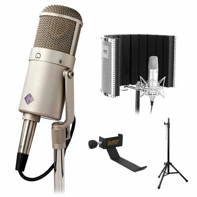 Neumann U 47 Fet Collector's Edition Microphone W/ Reflection Filter & Mic Stand • 2,945.29£