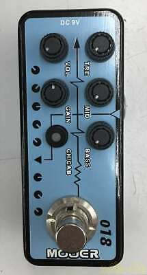 Mooer Micro Preamp 018 1521397 Effects Pedal Good Product To Use In Japan • 143.67£
