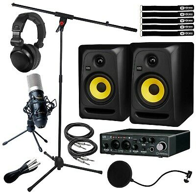 Steinberg UR22C 2 In/Out USB Home Recording Audio Interface Pack W 5  Monitors • 413.05£