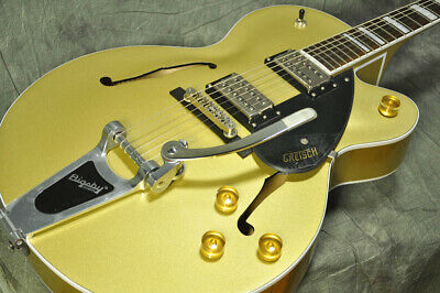 Gretsch G2420T Streamliner Hollow Body With Bigsby Gold Dust From Japan • 1,108.85£