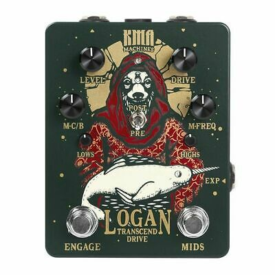 KMA Audio Machines Logan Overdrive Pedal With Switchable Mid Boost • 160.96£