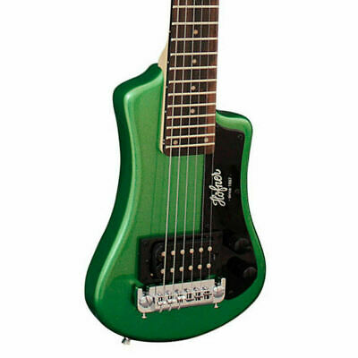 HOFNER HCT-SH-G Shorty Electric Guitar In Green With Gig Bag New • 107.81£