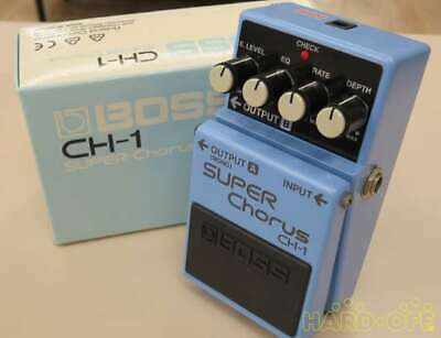 Boss CH-1 MX69540 Super Chorus Effects Pedal Good Product To Use In Japan • 162.27£