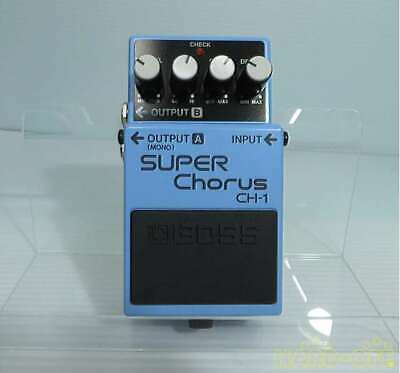 Boss CH-1 Y8G1269 Super Chorus Effects Pedal Good Product To Use In Japan • 201.74£