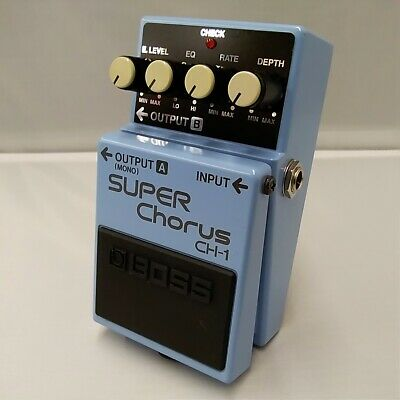 Boss CH-1 NX70933 Super Chorus Effects Pedal Good Product To Use In Japan • 201.74£
