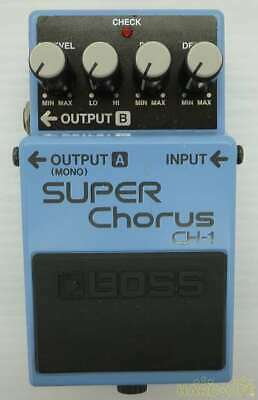 Boss CH-1 JV62805 Super Chorus Effects Pedal Good Product To Use In Japan • 149.03£