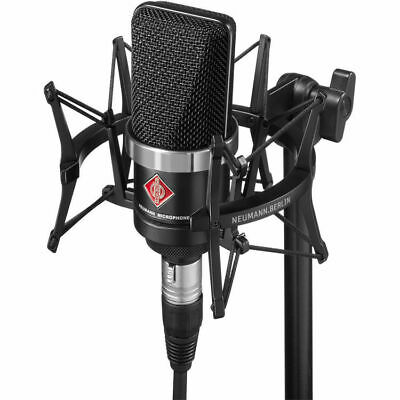 Neumann TLM-102 Large-Diaphragm Studio Condenser Microphone (Studio Set, Black) • 512.03£