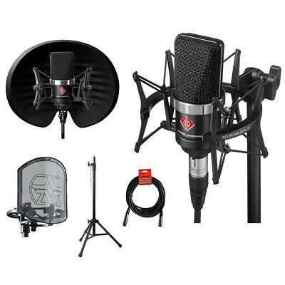 Neumann TLM-102 Microphone, Studio Set W/ Aston Filter & Swiftshield Bundle • 905.51£