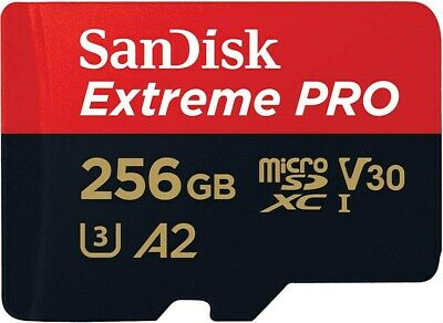 SanDisk Extreme PRO 256GB MicroSDXC UHS-I Memory Card With SD Adapter • 77.48£