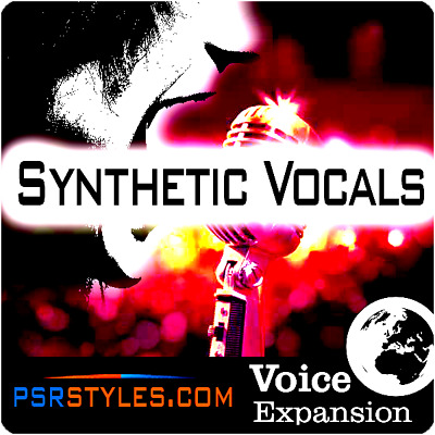 SYNTHETIC VOCALS Expansion Pack For YAMAHA Genos Tyros 5 PSR SX-900 S-975 S-970 • 6.11£