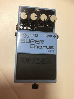Boss Super Chorus CH-1 Effects Pedal Good Product To Use In JP • 150.60£