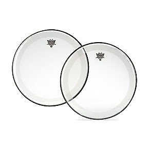 Remo P41318C2 Bass, POWERSTROKE® 4, Clear, 18  Diameter, With Im • 37.86£