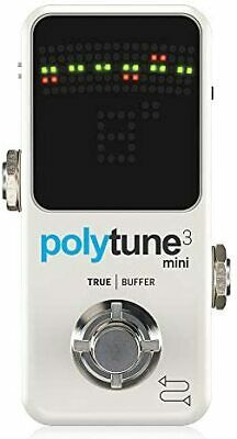 Tc Electronic Polyphonic Mini Tuner POLYTUNE 3 MINI • 97.35£