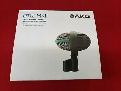NEW AKG D112 MKII Kick Drum Microphone -- FREE SHIPPING -- NO RESERVE • 35.11£
