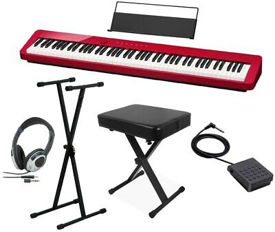 CASIO PX-S1000 RD Electronic Piano 88 Keys ,Stand, Chair,HP Set  From Japan  • 676.03£